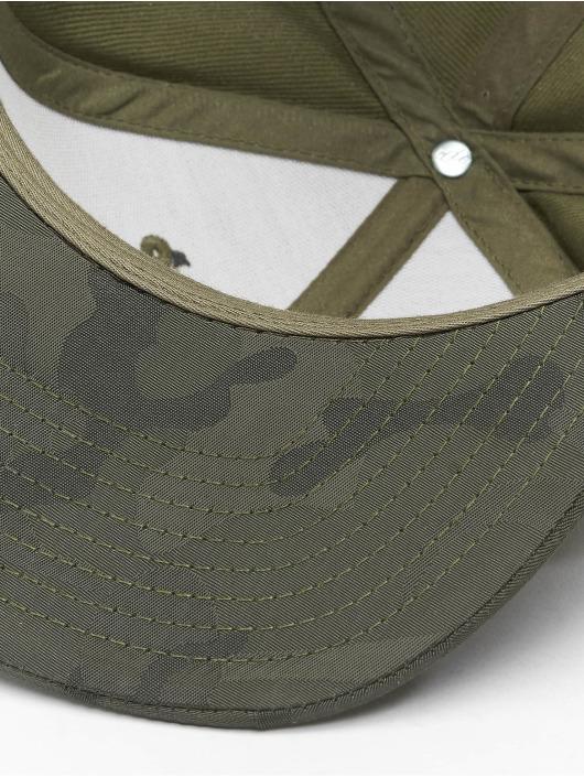 Flexfit Snapback Caps Camo Visor oliwkowy