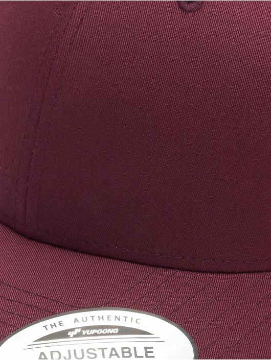 Flexfit Snapback Caps Curved Classic rød