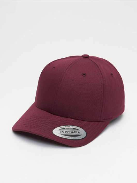 Flexfit Snapback Caps Curved Classic red