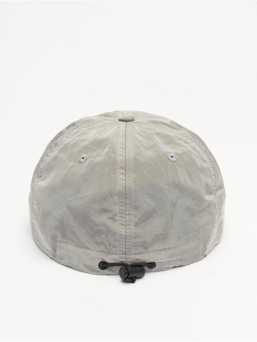 Flexfit Snapback Caps Adjustable Nylon sølv