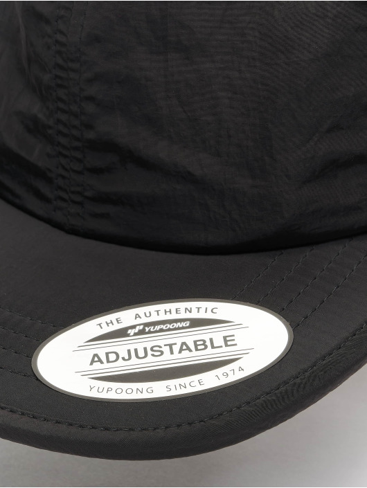Flexfit Snapback Caps Adjustable Nylon sort