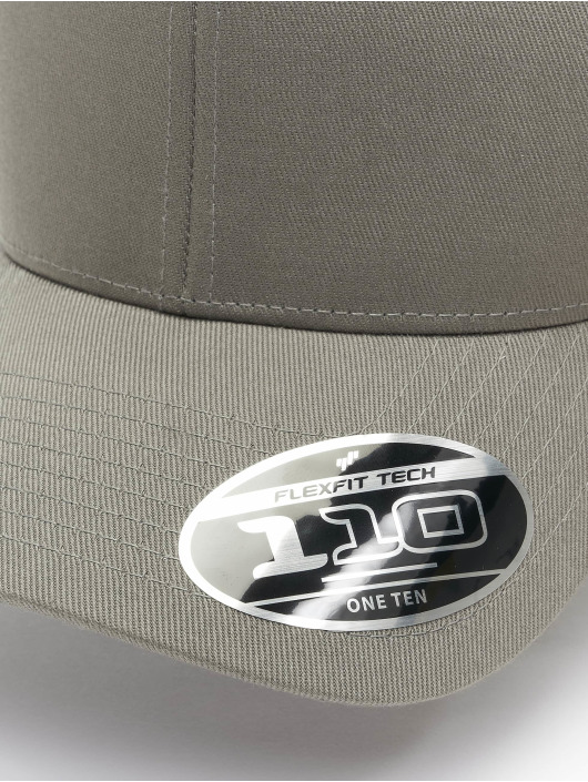 Flexfit Snapback Caps Wooly Combed Adjustable szary