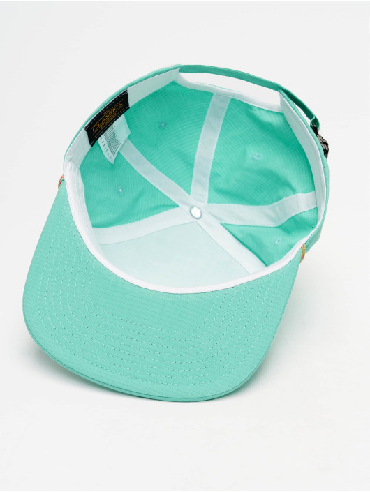 Flexfit Snapback Caps Color Braid Jockey turkusowy