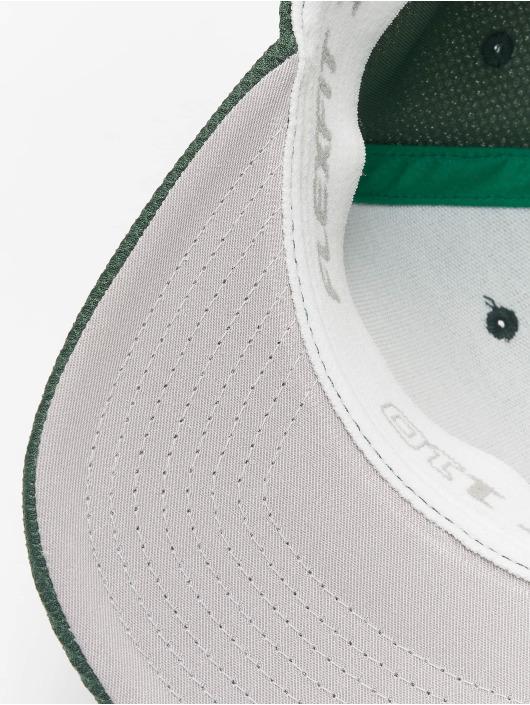 Flexfit Snapback Caps 110 Velcro Hybrid zielony
