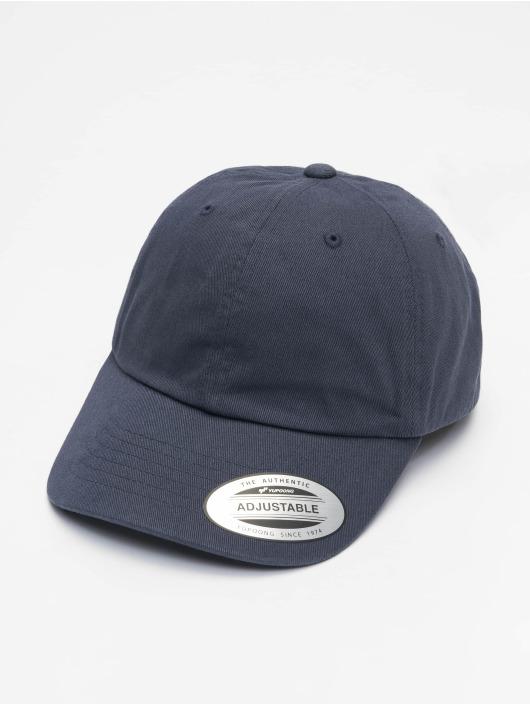 Flexfit Snapback Ecowash Dad modrá