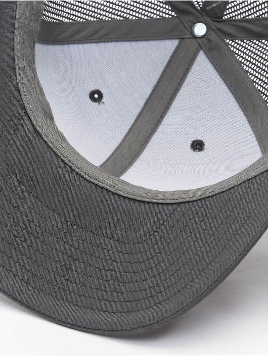 Flexfit Trucker Retro šedá