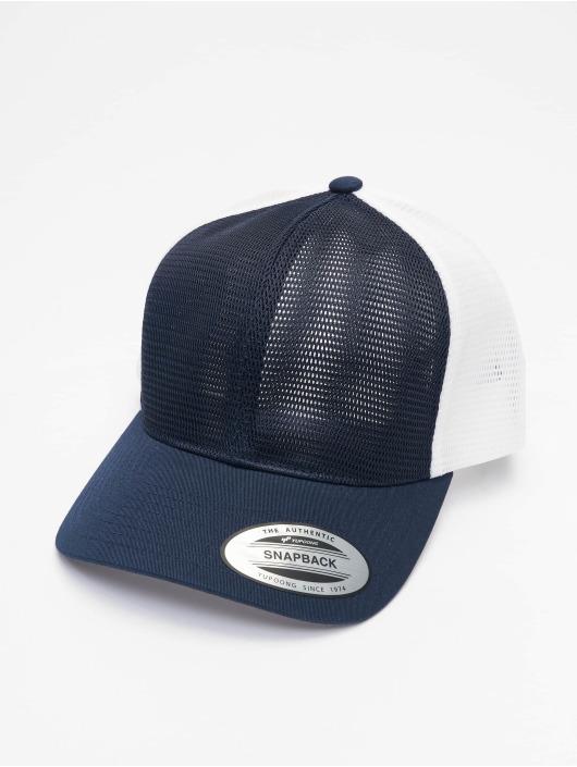 Flexfit Trucker Cap YP Classics 360 Omni Mesh 2-Tone blau