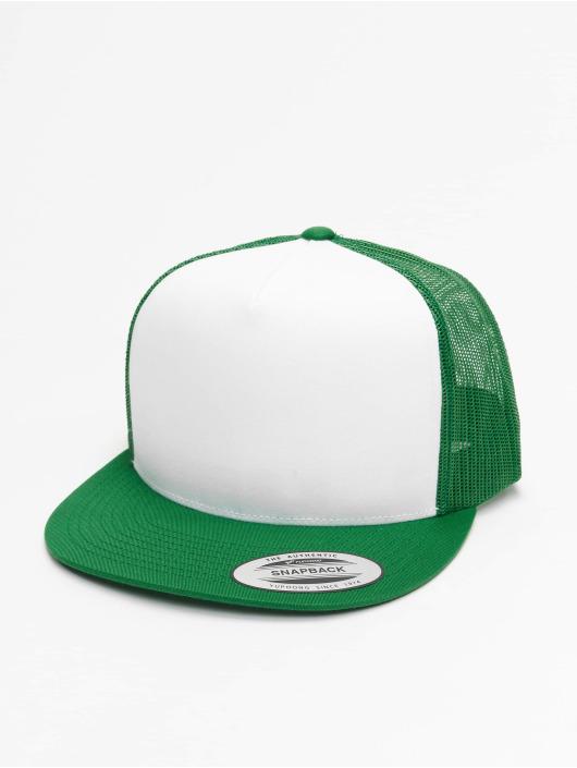 Flexfit Trucker Cap Classic grün