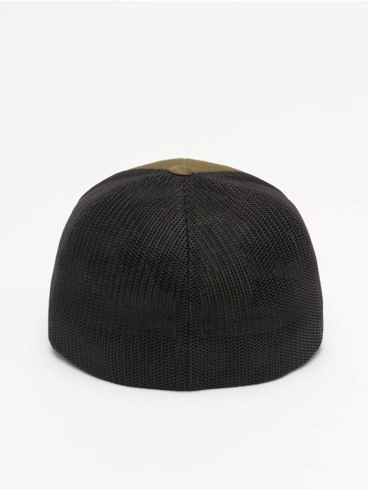 Flexfit Trucker Cap Recycled Mesh olive