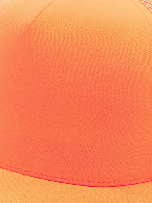 Flexfit Trucker Cap Neon Retro orange