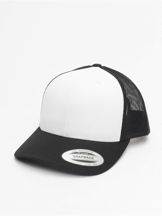Flexfit Trucker Cap Retro Colored Front schwarz