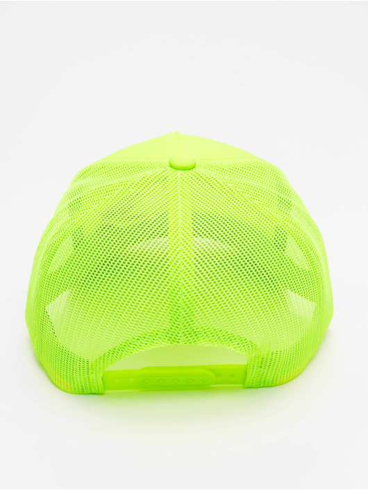 Flexfit Trucker Cap Neon Retro yellow