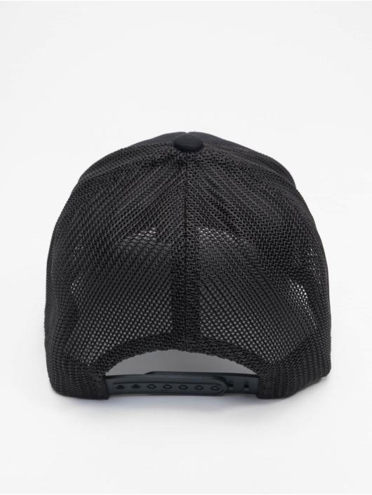 Flexfit trucker cap 110 Recycled Alpha Shape zwart