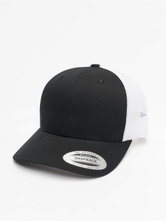 Flexfit Trucker Caps Retro czarny