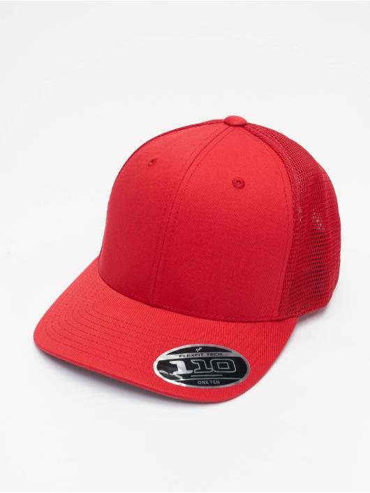 Flexfit Trucker Caps 110 Mesh czerwony
