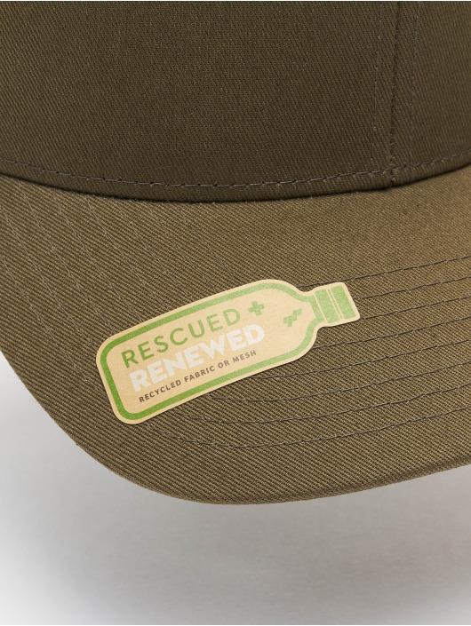 Flexfit Trucker Caps Recycled Mesh oliven