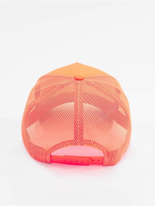 Flexfit Trucker Caps Neon Retro pomaranczowy