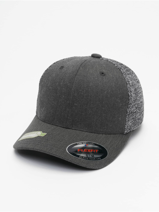 Flexfit Trucker Caps Melange Mesh sort