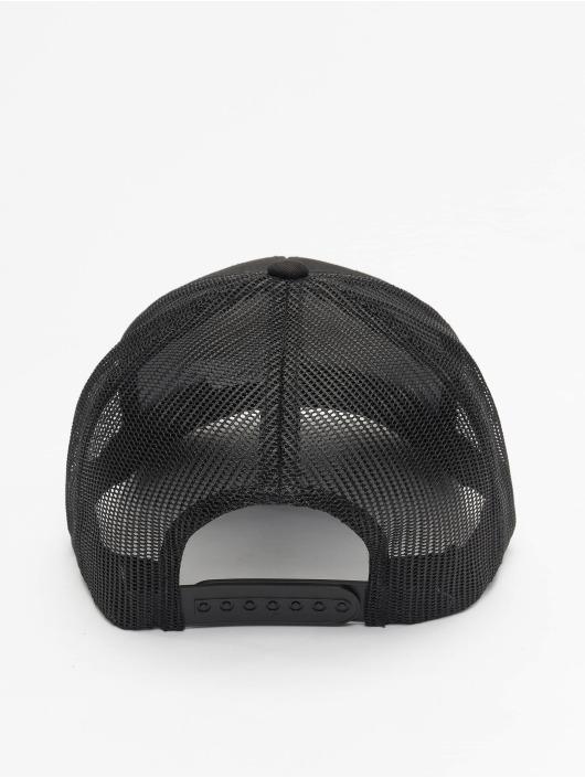 Flexfit Trucker Caps Retro svart