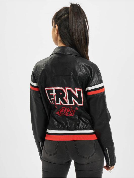 Fornarina Кожаная куртка CROSS черный