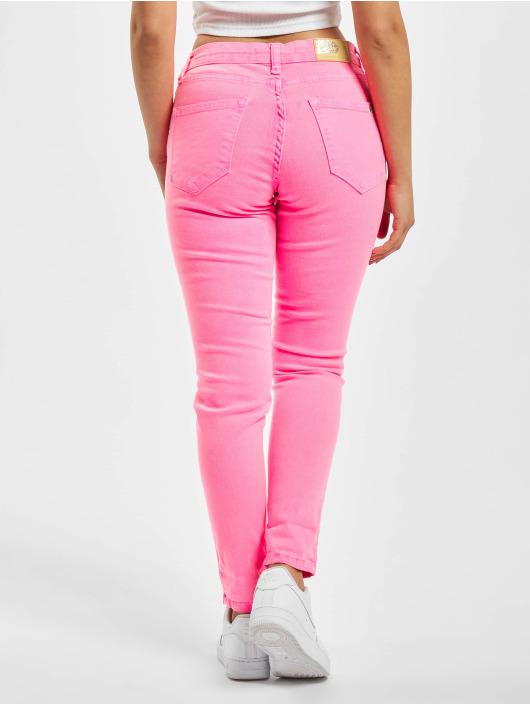 Fornarina Облегающие джинсы SILVIA лаванда
