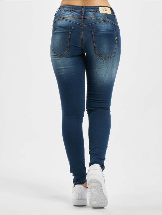 Fornarina Облегающие джинсы TINA синий
