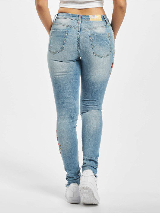 Fornarina Облегающие джинсы MERLA DENIM синий
