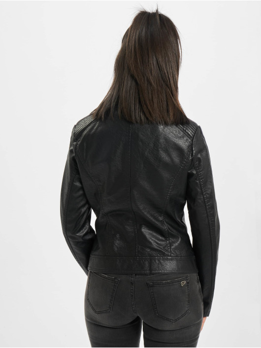 Fornarina Leather Jacket CONTE black
