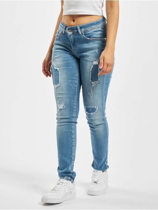 Fornarina Skinny Jeans ALANIS modrý