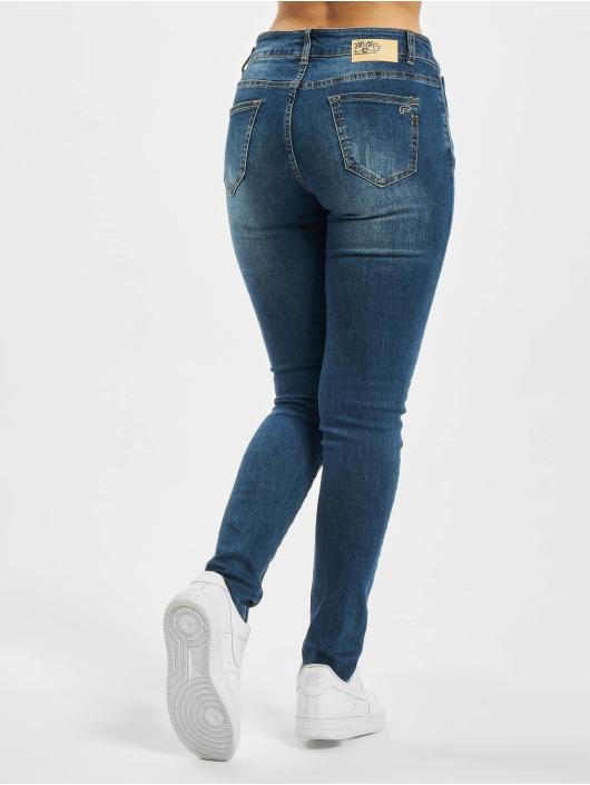 Fornarina Slim Fit Jeans EVA blå