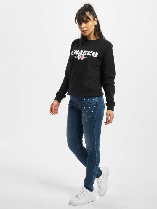 Fornarina Slim Fit Jeans EVA blauw