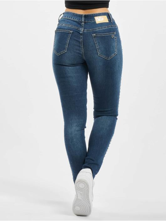 Fornarina Slim Fit Jeans HAPPY modrý