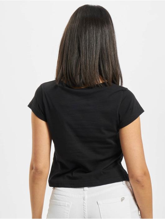 Fornarina T-Shirty RED czarny