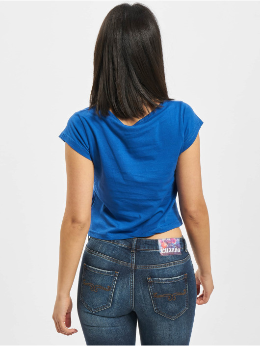 Fornarina T-Shirty RED niebieski