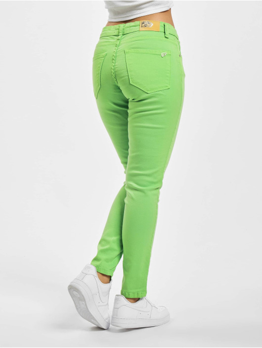 Fornarina Tynne bukser SILVIA grøn