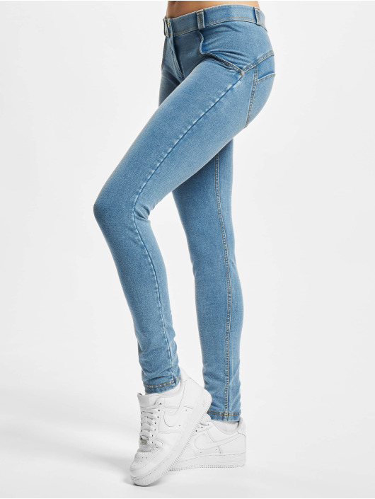 Freddy Облегающие джинсы Regular синий