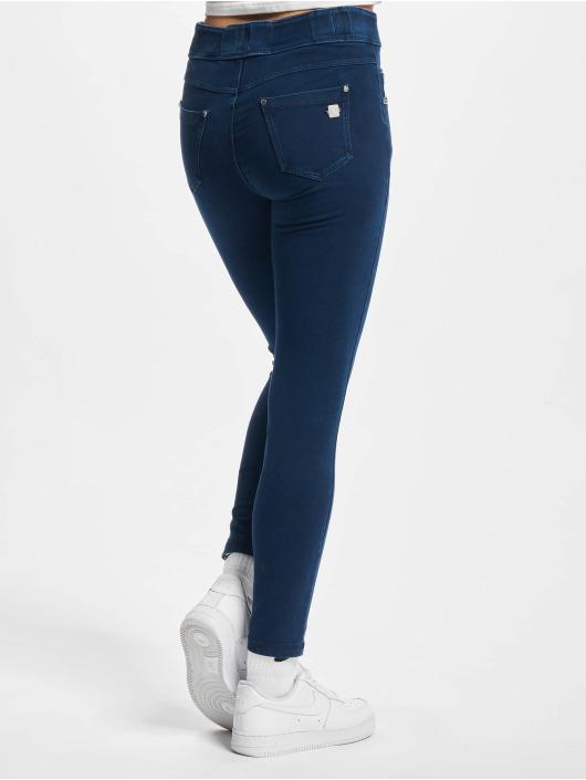 Freddy Облегающие джинсы Now 7/8tel Denim Medium Waist Skinny синий