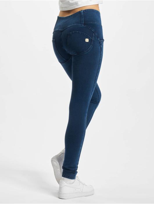 Freddy Облегающие джинсы Medium Denim синий