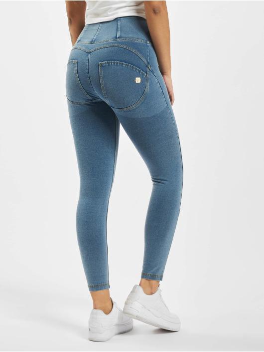 Freddy High Waist Jeans WR.UP Denim 7/8 High Waist Super Skinny blau