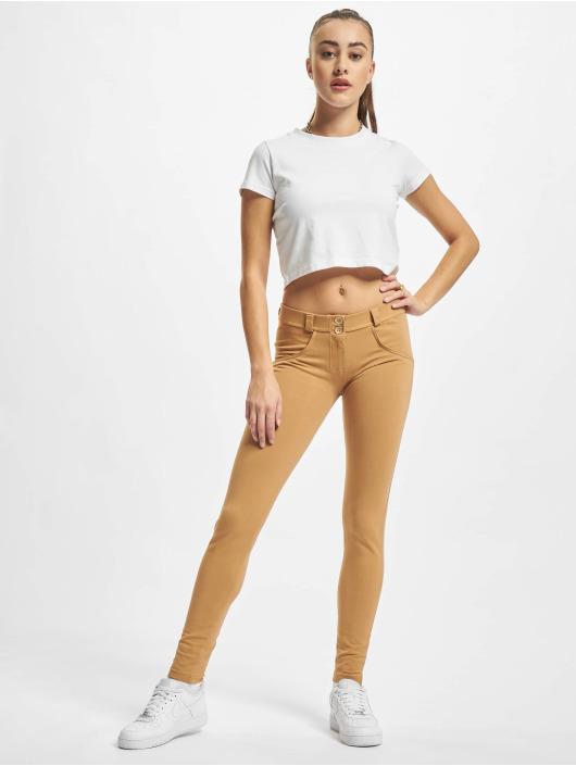 Freddy Jean skinny Basic Regular beige