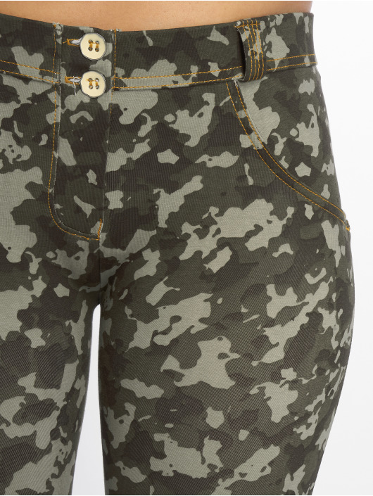 Freddy Kapeat farkut Regular Waist Super camouflage