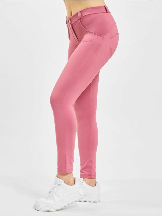 Freddy Kapeat farkut WR.UP D.I.W.O. 7/8 Regular Waist Super Skinny vaaleanpunainen