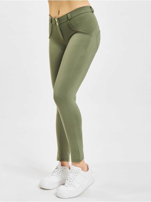 Freddy Legging Diwo 7/8 Super Skinny Jeans Optik olijfgroen
