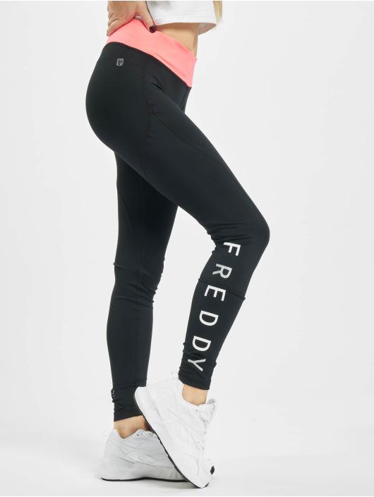 Freddy Legging Pantalone Lungo schwarz