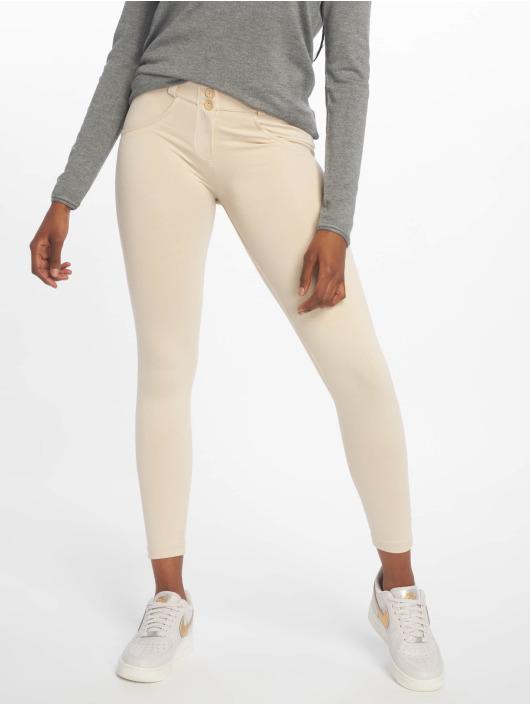 Freddy Skinny Jeans Regular Waist 7/8 beige