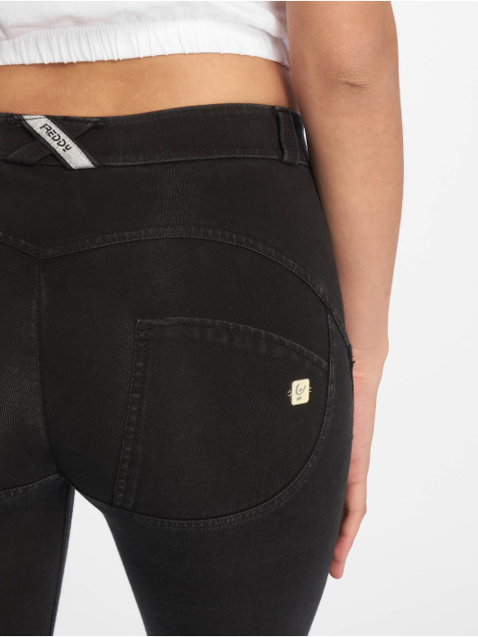 Freddy Skinny Jeans Regular Waist 7/8 Super black