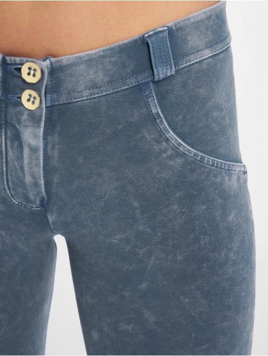 Freddy Skinny Jeans Regular Waist blau