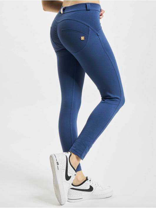 Freddy Skinny Jeans WR.UP 7/8 Regular Waist Super Skinny blau
