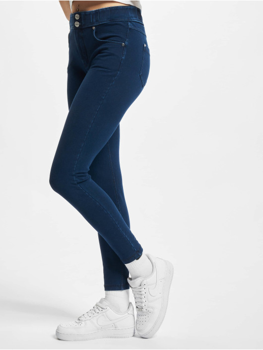 Freddy Skinny jeans Now 7/8tel Denim Medium Waist Skinny blauw