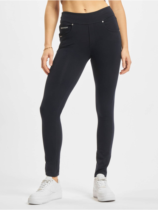 Freddy Skinny jeans Now Regular Cotton Medium Waist blauw